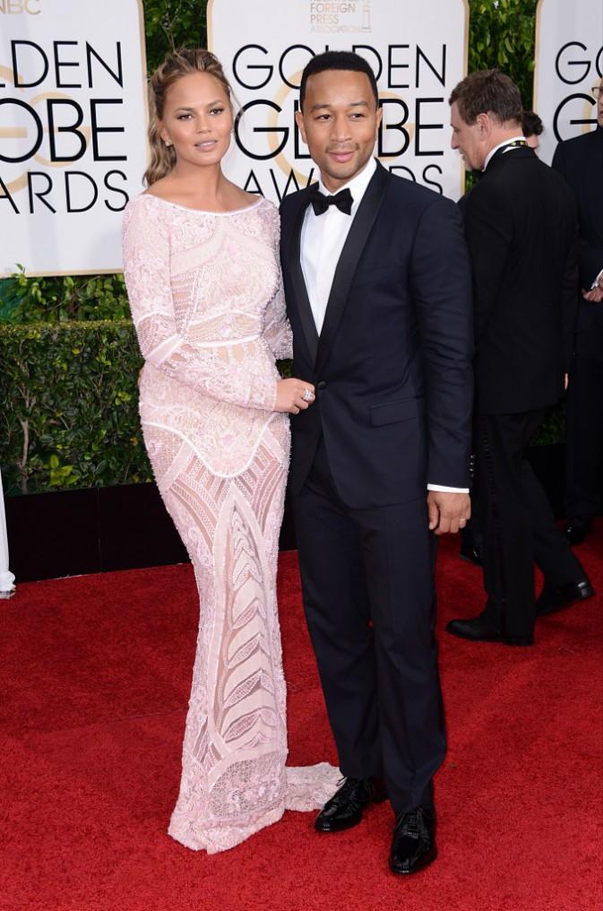 John Legend et Chrissy Teigen le 11 janvier 2015
