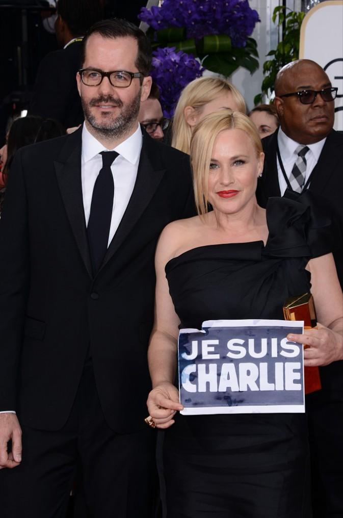 Patricia Arquette le 11 janvier 2015