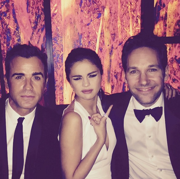 Justin Theroux, Selena Gomez, Paul Rudd