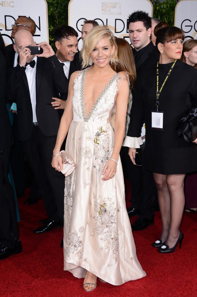 Sienna Miller le 11 janvier 2015