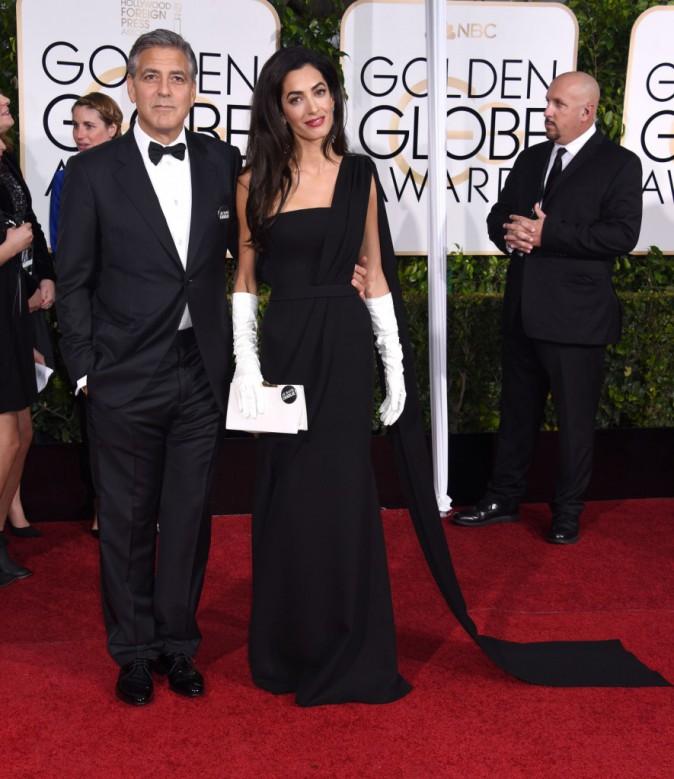 George et Amal Clooney le 11 janvier 2015