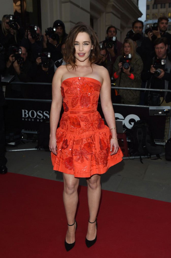 Emilia Clarke le 8 septembre 2015