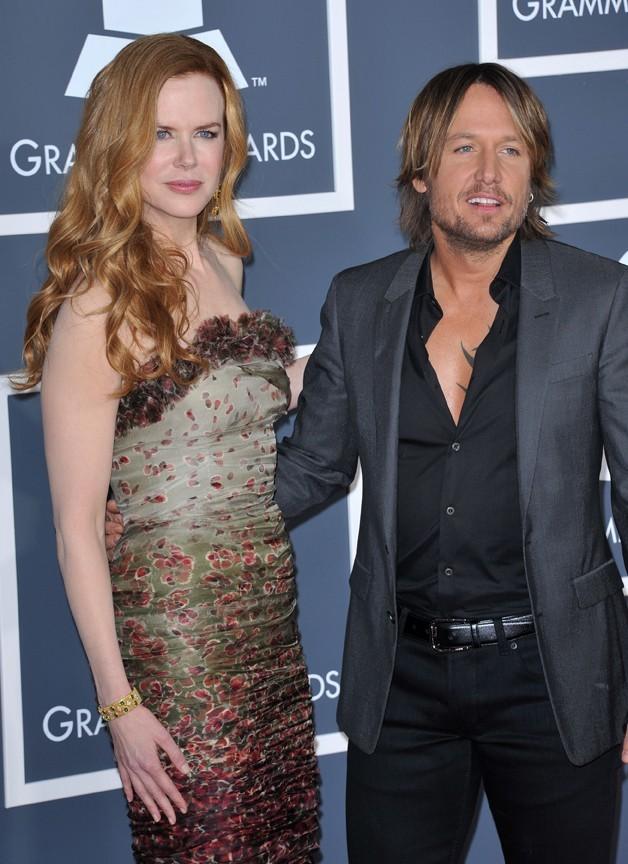 Keith Urban et Nicole Kidman ne se quittent pas d'une semelle, et encore moins sur le tapis rouge !