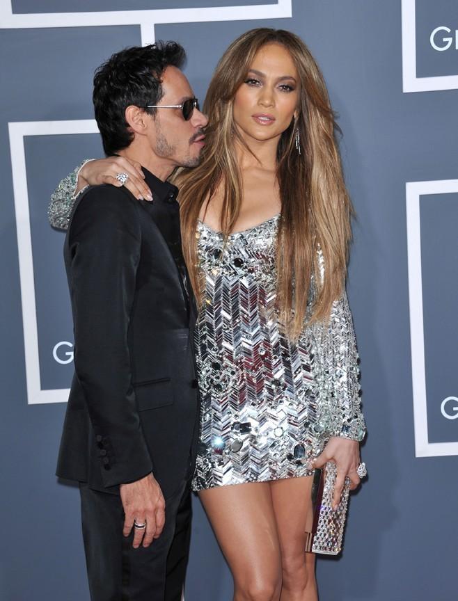 Marc Anthony, fan de sa sculpturale femme, Jennifer Lopes.