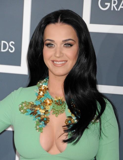Katy Perry lors de la 55e cérémonie des Grammy Awards à Los Angeles, le 10 février 2013.