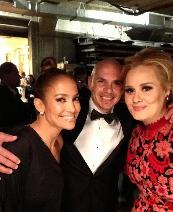 JLo, Pitbull et Adele !