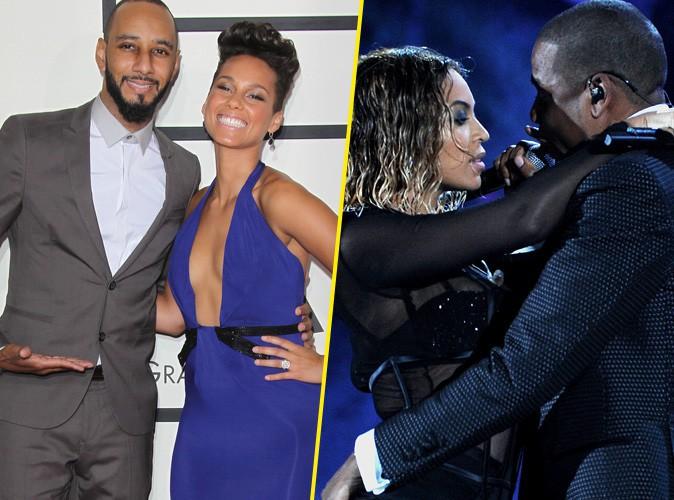 Grammy Awards 2014 : Alicia Keys, Beyoncé, Pink... Du glamour et de l'amour sur tapis rouge et sur scène !