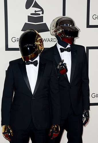 Daft Punk à Los Angeles le 26 janvier 2014