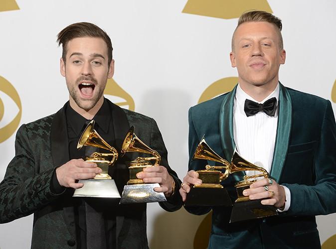 Ryan Lewis et Macklemore à Los Angeles le 26 janvier 2014