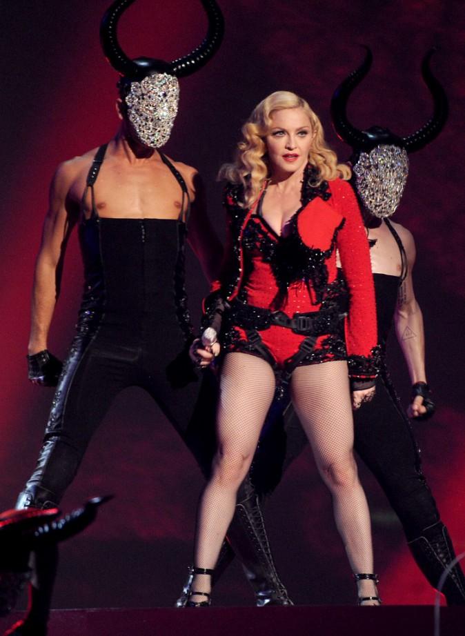 Madonna le 8 février 2015