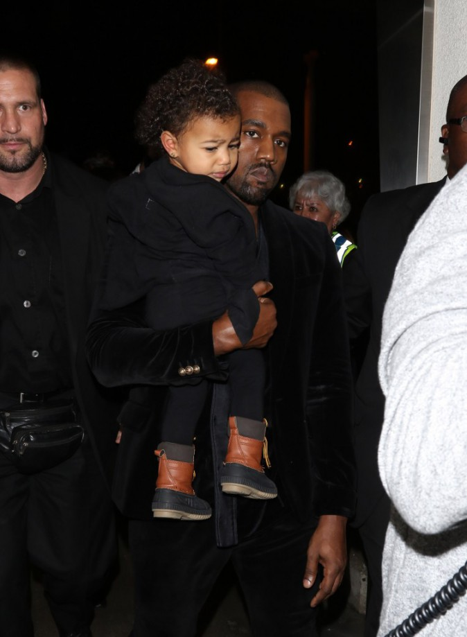 Photos : Grammy Awards 2015 : North West et Blue Ivy : les baby girls aussi étaient de la partie !
