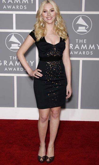 Scarlett Johansson, classique mais sexy !