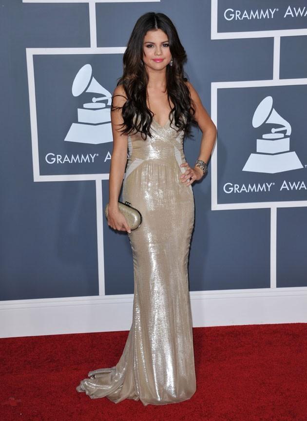 Selena Gomez, scintillante !