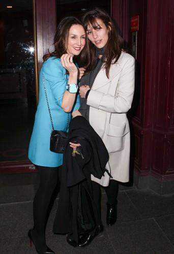 Elsa Zylberstein et Doria Tillier à Paris le 23 décembre 2013
