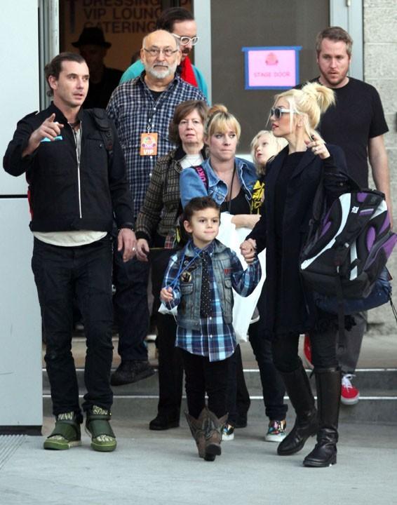 Sortie en famille hier pour Gwen Stefani et Gavin Rossdale !