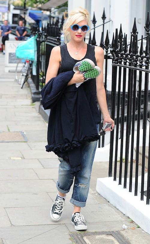 Photos : Gwen Stefani : bohème, toute la famille se la joue streetwear à Londres !