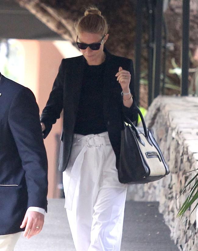Gwyneth Paltrow à la baby shower de Gwen Stefani le 8 février 2014