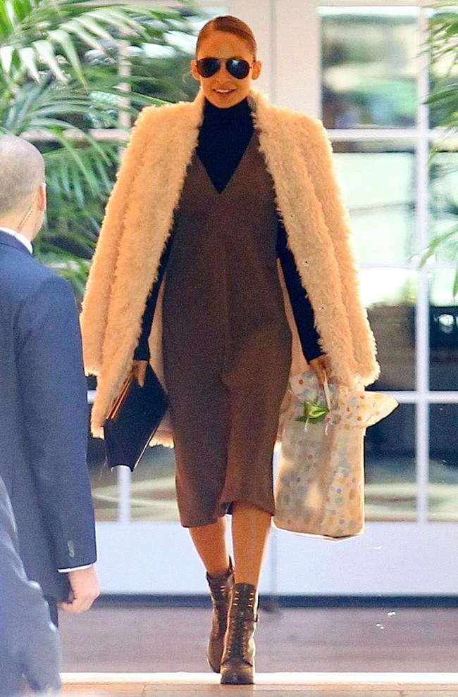 Nicole Richie à la baby shower de Gwen Stefani le 8 février 2014