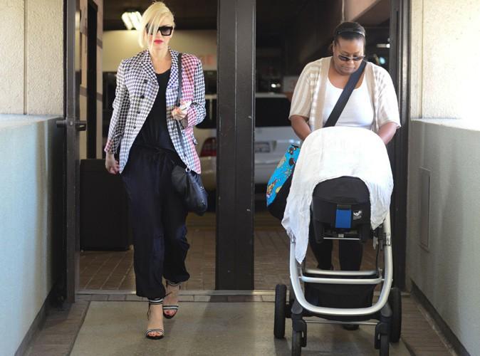 Gwen Stefani : elle s'affiche pour la toute première fois avec son baby boy Apollo !