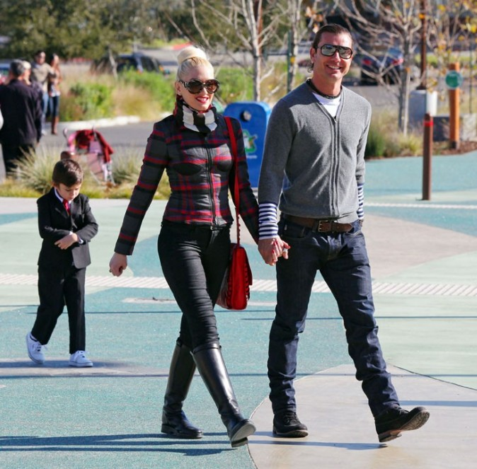 Sortie au zoo pour Gwen Stefani et Gavin Rossdale !
