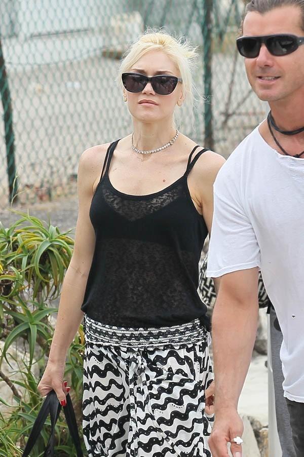 Un peu pâlotte, Gwen Stefani !