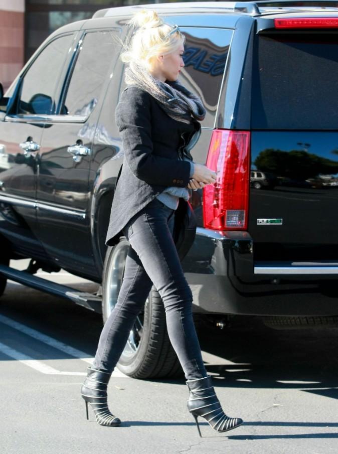 Elle reste très sexy Gwen Stefani pour faire ses courses !