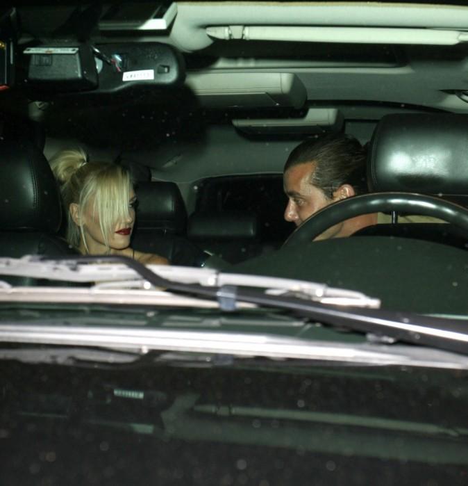 Gwen Stefani et Gavin Rossdale, Hollywood, 14 septembre 2012.
