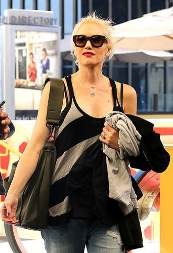 Gwen Stefani et Gavin Rossdale à Los Angeles le 6 octobre 2013