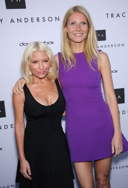 Gwyneth Paltrow et Tracy Anderson à Brentwood, le 4 avril 2013.