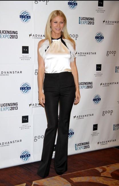 """Gwyneth Paltrow lors de l'Expo """" Licensing 2013"""" à Las Vegas, le 18 juin 2013."""