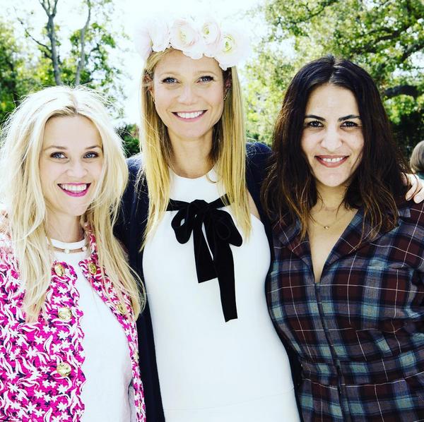 Photos : Gwyneth Paltrow compte sur Nicole Richie et Cameron Diaz pour vendre ses crèmes !