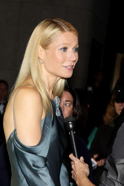 Gwyneth Paltrow lors du gala Tiffany & Co. Blue Book Ball à New York, le 18 avril 2013.