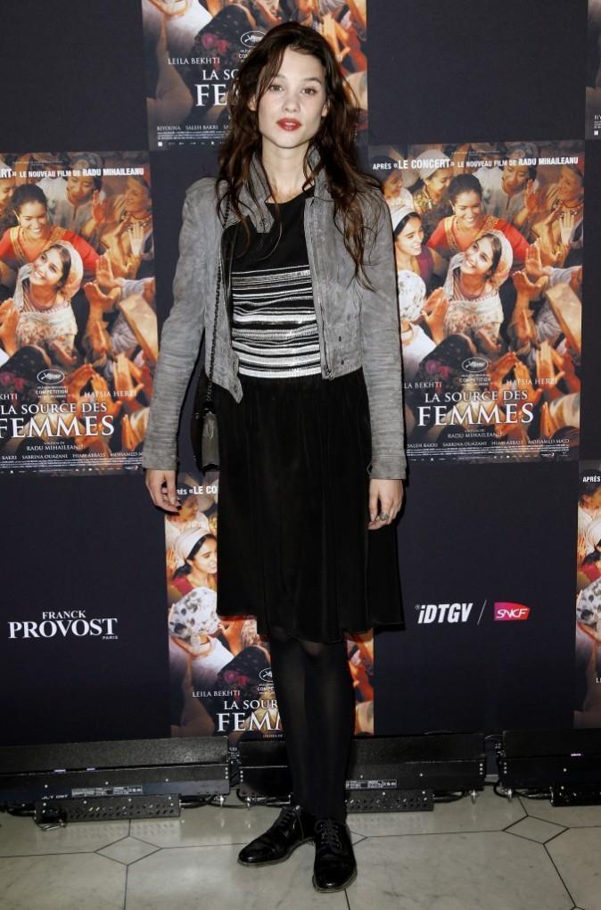 Astrid Bergès-Frisbey lors de la première du film La Source des Femmes à Paris, le 24 octobre 2011.