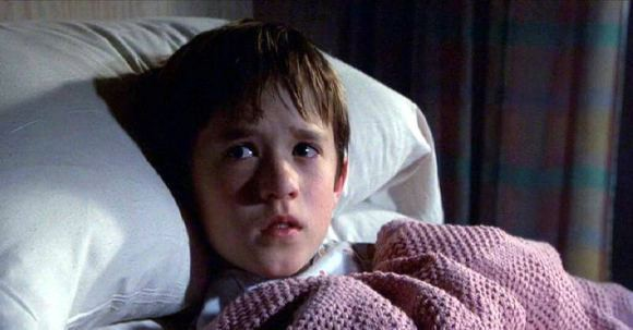 """Haley Joel Osment dans le film """"Sixième Sens""""."""
