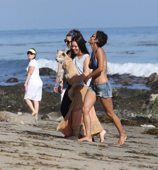Halle Berry à Malibu le 16 septembre 2012