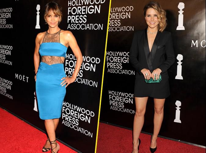 Photos : Halle Berry divine, Sophia Bush très décolletée... elles en mettent plein la vue à la presse étrangère !