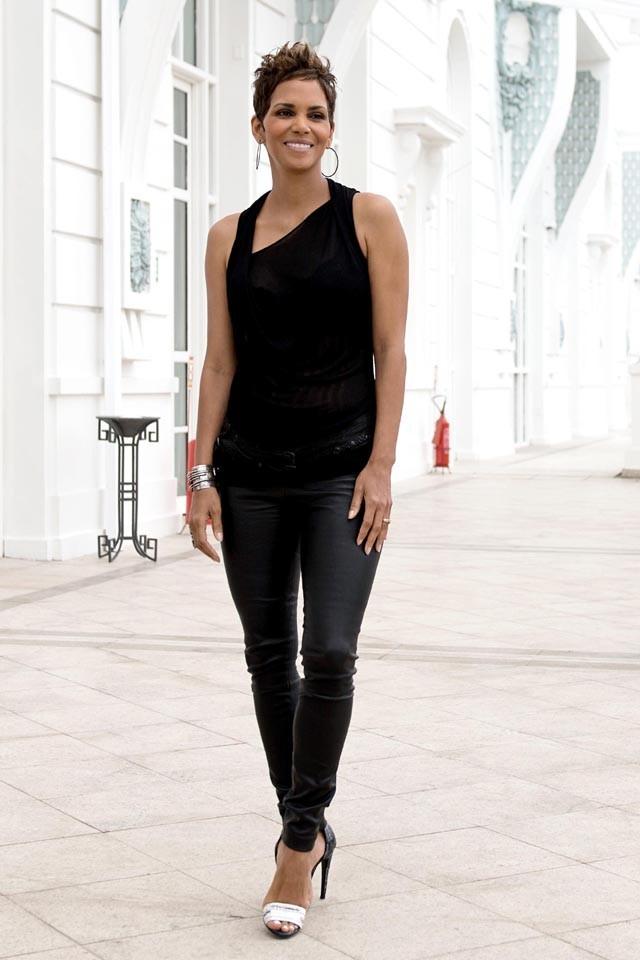 Halle Berry à Rio de Janeiro le 10 avril 2013 pour le photocall de The Call
