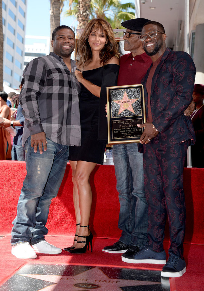 Photos : Halle Berry rend hommage Kevin Hart !
