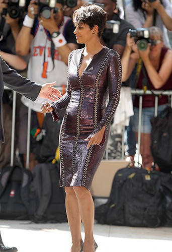 Halle Berry à New York le 7 juillet 2014