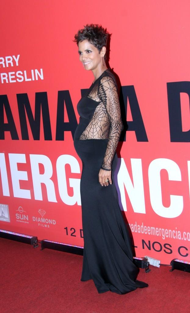 Halle Berry lors de la première du film The Call à Rio de Janeiro, le 11 avril 2013.