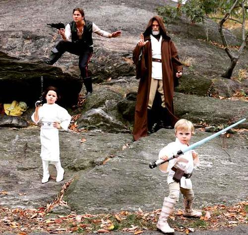 Neil Patrick Harris, son mari et leurs enfants