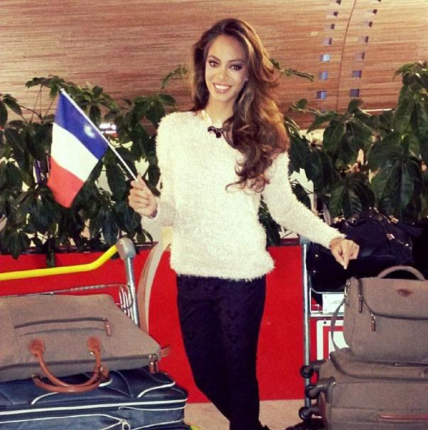 Hinarani de Longeaux va faire honneur à la France avec beauté, c'est sûr !