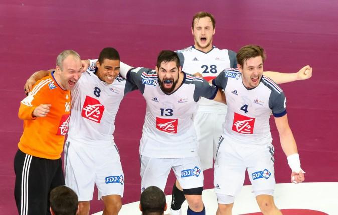 L'équipe de France fête son titre