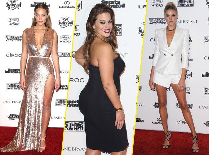 Photos : Hannah Davis, Ashley Graham, Kelly Rohrbach... Combat de bombes à la soirée Sports Illustrated