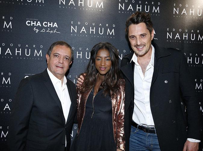 Hapsatou Sy et Vincent Cerruti : Couple glamour à la soirée Edouard Nahum !