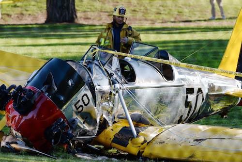 Photos : Harrison Ford : miraculé du crash de son avion !