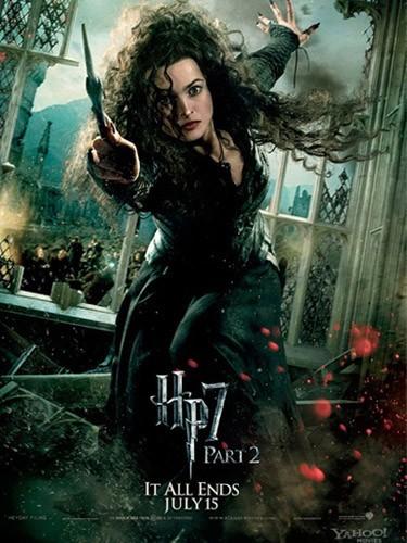 Bellatrix (Helena Bonham-Carter) : la définition de la méchante sorcière...