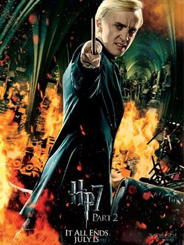 Drago (Tom Felton) : un des nombreux méchants...