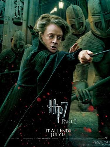 Le professeur McGonagall (Maggie Smith)