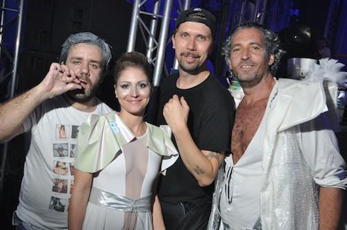 Invités à la soirée des Ambassadeurs au Bourget, le 18 octobre 2014